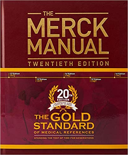 The Merck Manual of Diagnosis and Therapy 20th Edition 3 Vol 2019